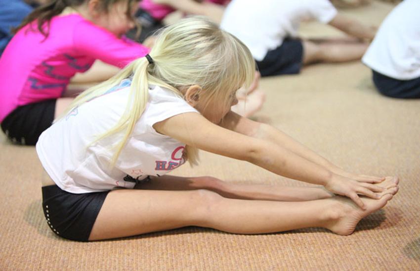 Gym fun at Yate acrogymnastics