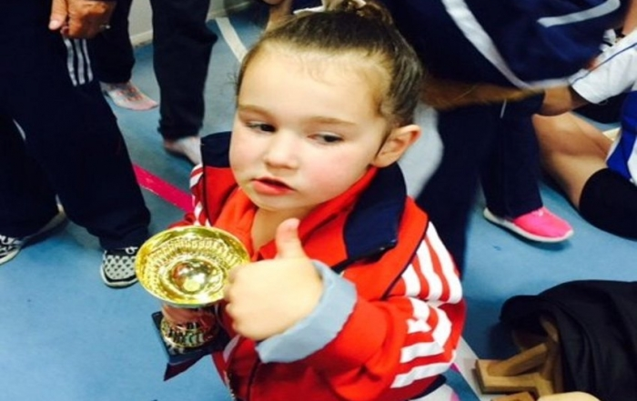 Little Esmee's Our Latest Rising Gym Star