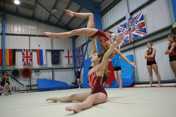 competition gymnastics
