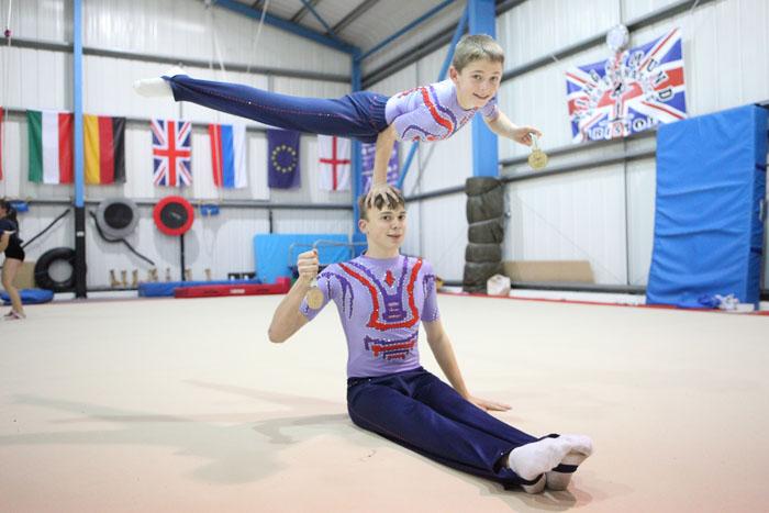 elite gymnastics squad