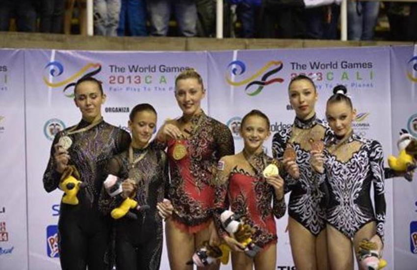 Acrogymnastics World Games Gold Medals
