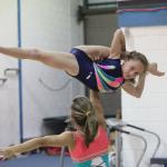 Competition squad at Yate International Gymnastics